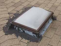 Fixing Skylight Leaks